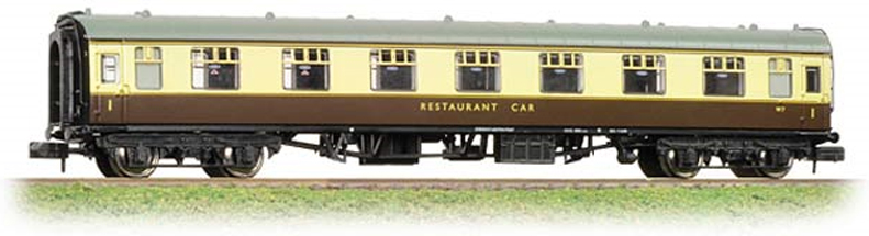 Graham Farish 374-810 Mk1 RFO Restaurant Car BR Chocolate & Cream