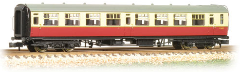 Graham Farish 374-451 Bulleid Open Third Coach BR Crimson & Cream