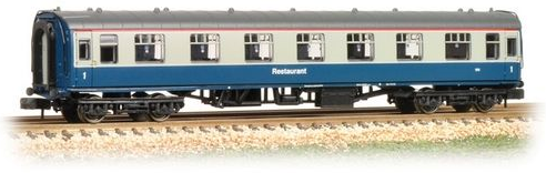 Graham Farish 374-811 Mk1 RFO Restaurant Car BR Blue & Grey