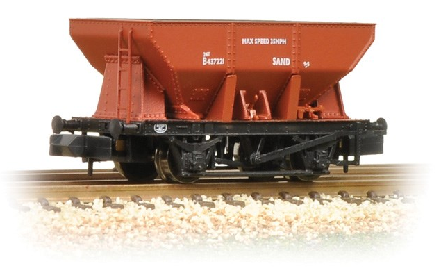 Graham Farish 373-216 24t ore hopper wagon BR Bauxite (early)