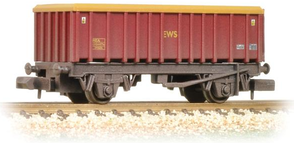 Graham Farish 373-575F 46t MEA Open Mineral Wagon EWS (weathered)