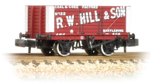 Graham Farish 377-153 8 Plank Fixed End Wagon 'R. W. Hill'