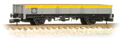Graham Farish 377-776 12t Pipe Wagon BR Bauxite (early)
