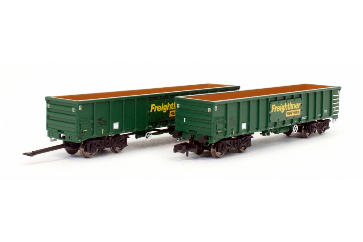 Dapol 2F-025-003 MJA Freightliner Heavy Haul Box Van Twin Pack 502021 / 022