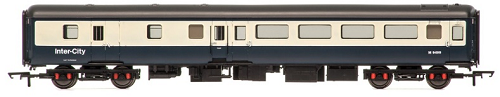 Hornby R4612 Mk2E BSO Brake Second Open Coach M9499 BR Blue & Grey (with lights)