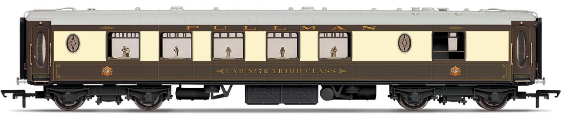 Hornby R4660 All Steel K Type Pullman 3rd Class Kitchen Car 'No. 72'