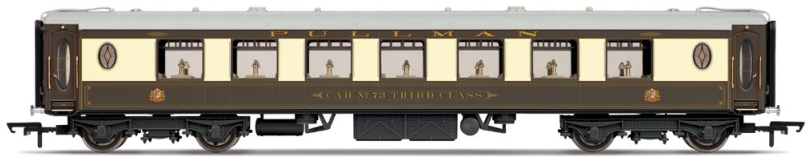 Hornby R4661 All Steel K Type Pullman 3rd Class Parlour Car 'No. 73'