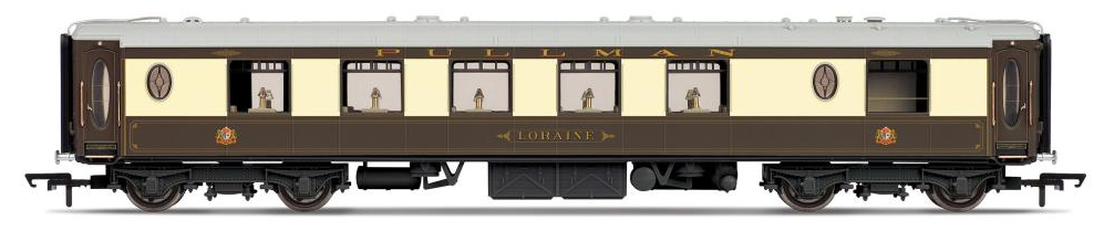 Hornby R4663 All Steel K Type Pullman 1st Class Kitchen Car 'Loraine'