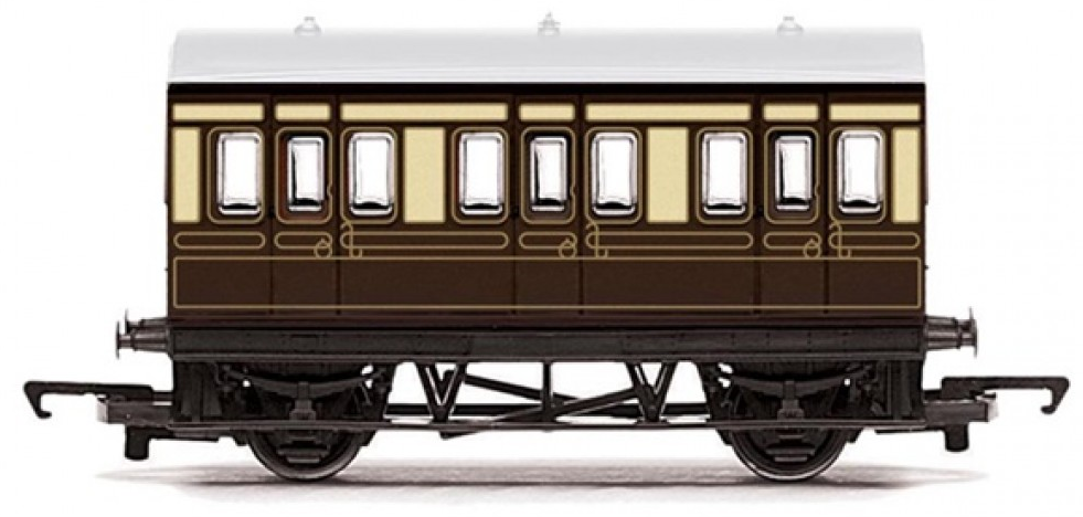 Hornby R4673 Freelance 4 Wheel Coach GWR - Railroad