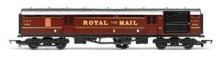 Hornby R4155 LMS TPO operating Royal Mail Coach set