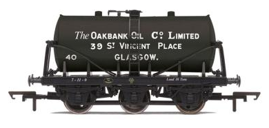 "Hornby R6568 ""The Oakbank Oil Co. Ltd"" 6 Wheel Tanker"