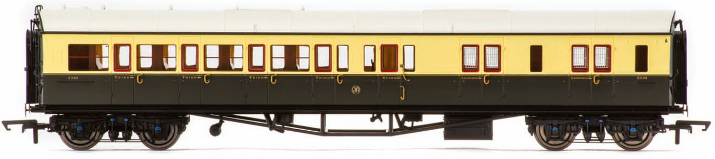 Hornby R4790 Autocoach GWR Chocolate & Cream
