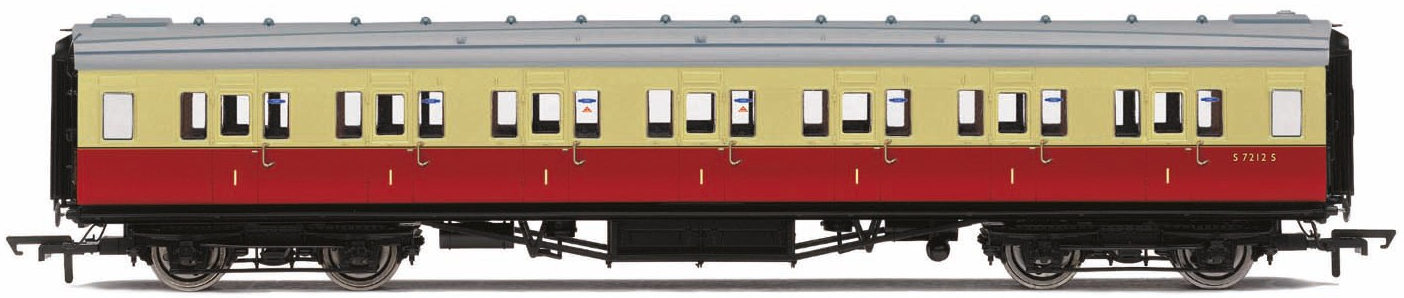 Hornby R4786 Mk1 Second Open Coach E4811 BR Maroon (no crest)