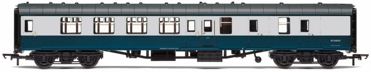 Hornby R4802 Stanier Period III 68' Dining/Restaurant Car 238 LMS Crimson Lake