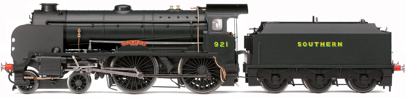 Hornby R3631 H Class 0-4-4T 31265 BR Lined Black with early crest