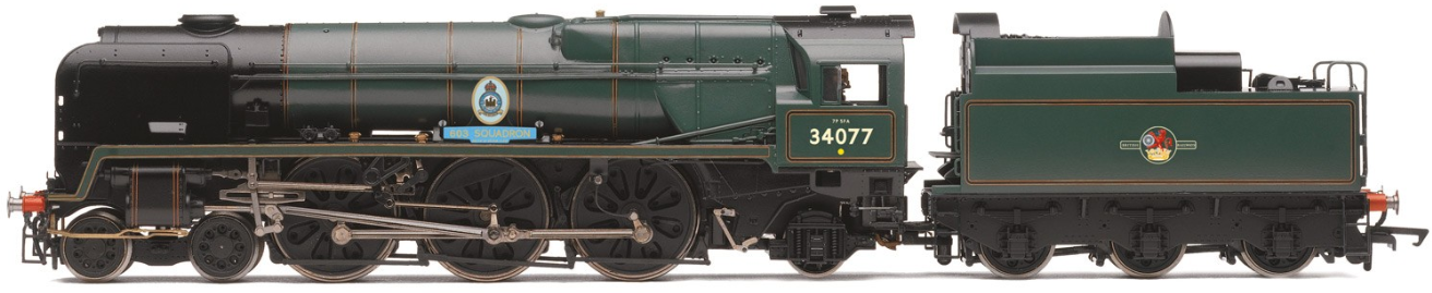 "Hornby R3633 Patriot Class 4-6-0 45534 ""E. Tootal Broadhurst"" BR Green with early crest"