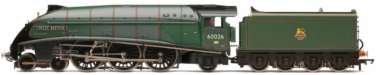 "Hornby R3639 Princess Coronation Class (Streamlined) 4-6-2 6244 ""King George VI"" LMS Crimson Lake"