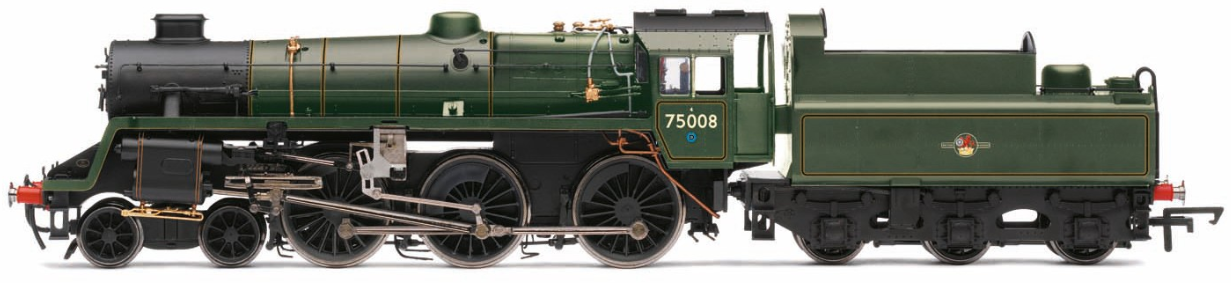 Hornby R3547 Standard Class 4MT 4-6-0 75008 BR Lined Green with late crest