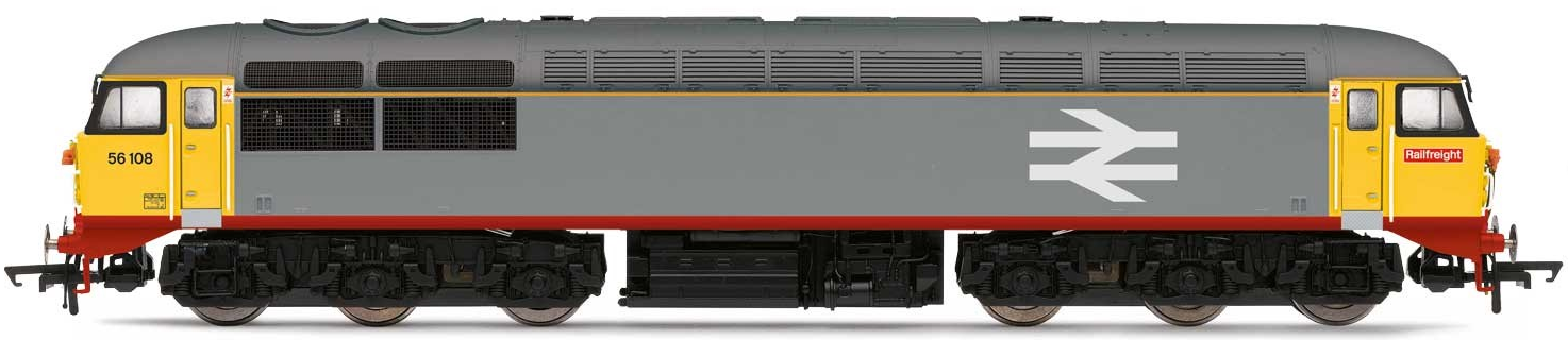 Hornby R3473 Class 56 Co-Co 56108 Railfreight Red Stripe