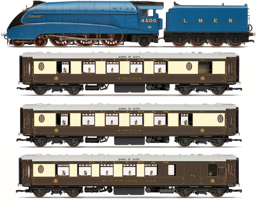Hornby R3402 LNER Queen of Scots Train Pack - Limited Edition