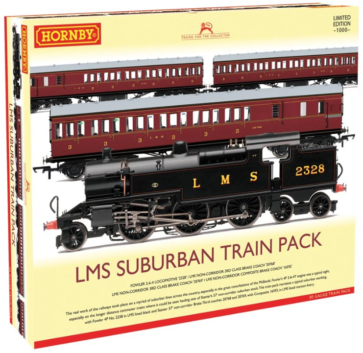 Hornby R3397 LMS Suburban Passenger Train Pack - Limited Edition