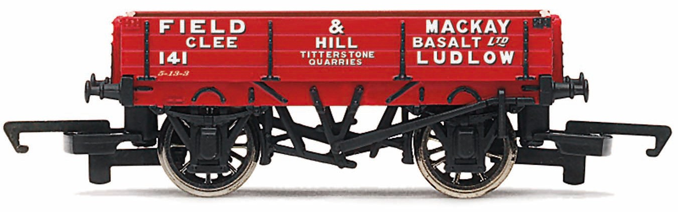 Hornby R6804 3 Plank Open Wagon 'Field and Mackay - Ludlow'