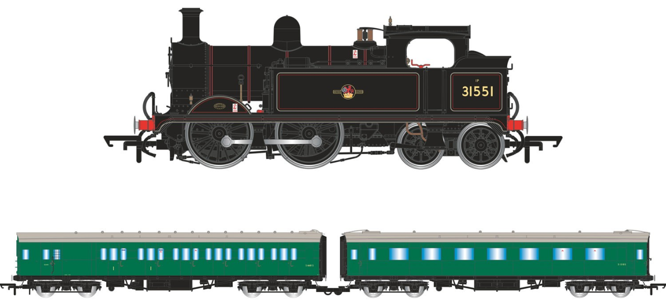 Hornby R3616 Class 5MT 'Black 5' 4-6-0 5089 LMS Lined Black