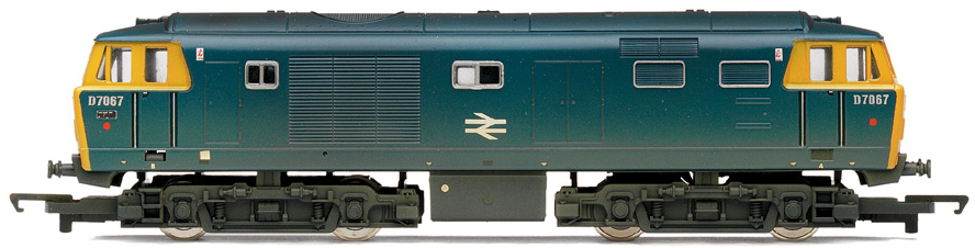 Hornby R2423 Class 35 Hymek D7067 BR Blue (weathered)