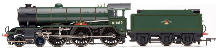 Hornby R3003 B17/6 Class 4-6-0 61669 'Barnsley' BR Lined Green with late crest