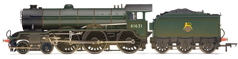 Hornby R3004X B17/2 Class 4-6-0 61631 'Serlby Hall' BR Lined Green with early crest (weathered) DCC Fitted