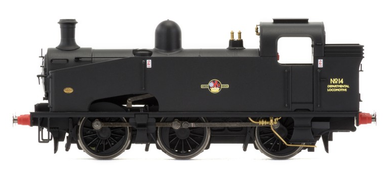 Hornby R3406 J50 Class 0-6-0 No14 Departmental BR Black with late crest