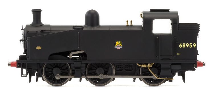 Hornby R3407 J50 Class 0-6-0 68959 BR Black with early crest