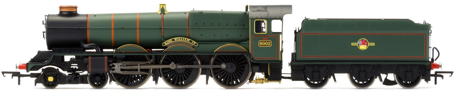 "Hornby R3409 King Class 4-6-0 6002 ""King William IV"" BR Green with late crest"