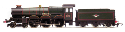 "Hornby R2280 Class 4073 Castle 4-6-0 5073 ""Blenheim"" BR Lined Green with late crest"