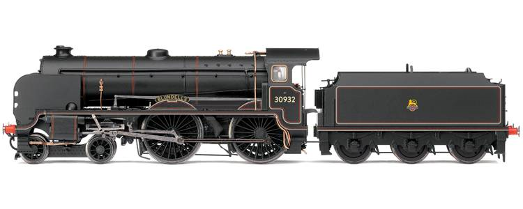 "Hornby R2744 Class V Schools 4-4-0 30932 ""Blundell's"" BR Black Early Crest"