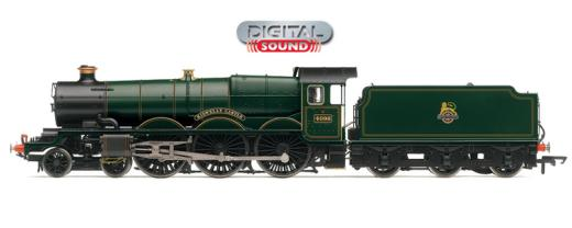 Hornby R2897XS Castle Class 4-6-0 4098 'Kidwelly Castle' BR Green with early crest (DCC Sound)