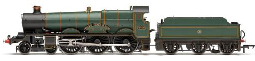 "Hornby R3166 Star Class 4-6-0 4018 ""Knight of the Grand Cross"" GWR Lined Green with shirtbutton crest"