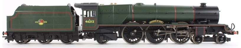 "Hornby R2314 Princess Class 4-6-2 46212 ""Duchess Of Kent"" BR Green with late crest"