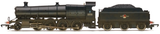 Hornby R2465 Class 28XX 2-8-0 2836 BR Black (weathered)
