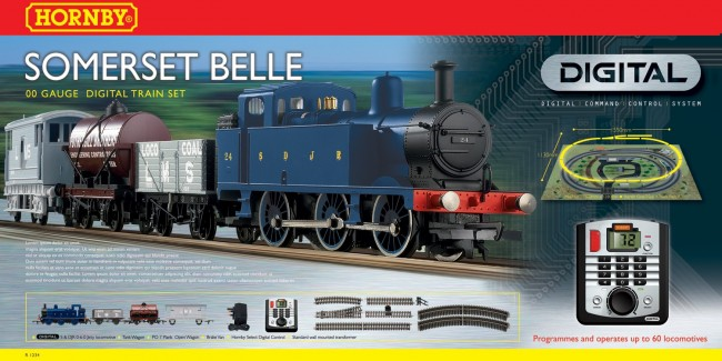 Hornby R1125 Somerset Belle Digital Train Set
