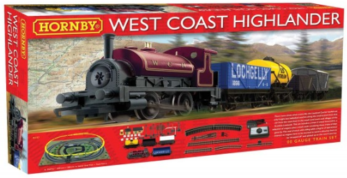 Hornby R1157 West Coast Highlander Starter Train Set