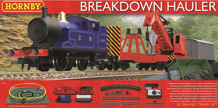 Hornby R1174 Breakdown Hauler Train Set