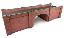 Metcalfe Models PO246 Red Brick Bridge (Double Track)