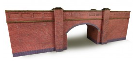 Metcalfe Models PN146 Red Brick Bridge (Double Track)
