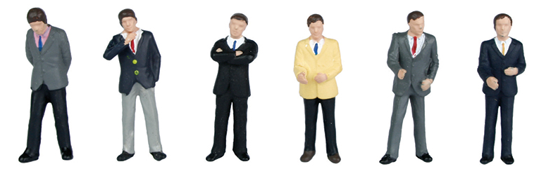 Bachmann 36-040 Businessmen