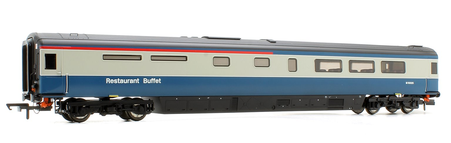 Oxford Rail OR763RB001 BR Mk3a Coach - RUB Blue/Grey M10025