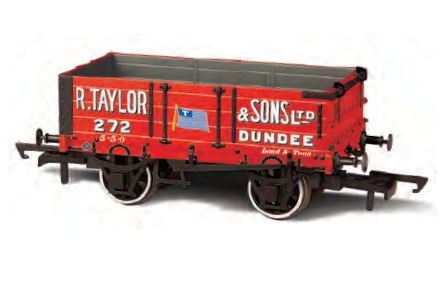 Oxford Rail OR76MW4002 4 Plank 'R Taylor & Sons Dundee'