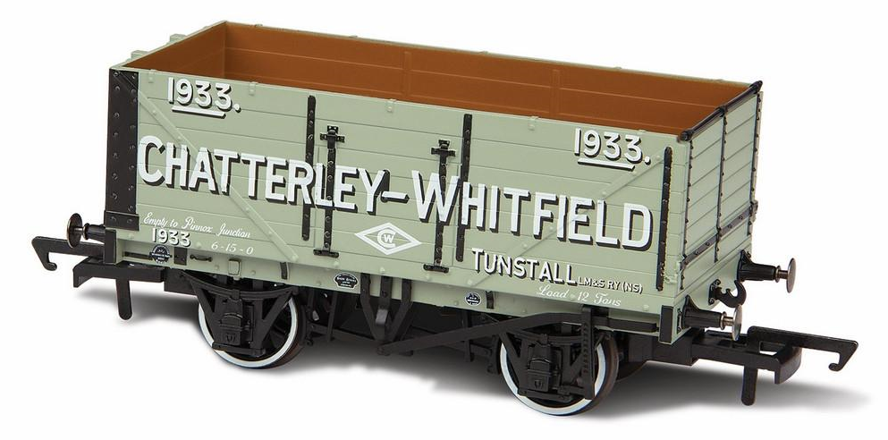 Oxford Rail OR76MW7028 7 Plank 'Chatterley-Whitfield Tunstall'