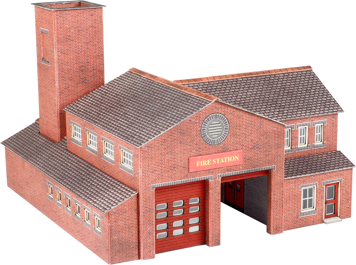 Metcalfe Models PN189 Fire Station