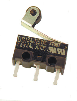 Peco PL-33 Microswitch, enclosed type (for use with SL-E895/6)